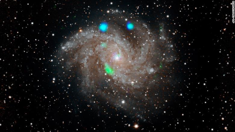 Научниците збунети од зрачењето од далечна галаксија што траело само 10 дена