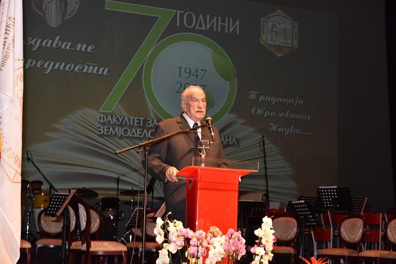 Академик Ѓорѓи Филиповски: Во земјоделството се професиите на иднината, ќе ни треба сѐ повеќе квалитетна и безбедна храна