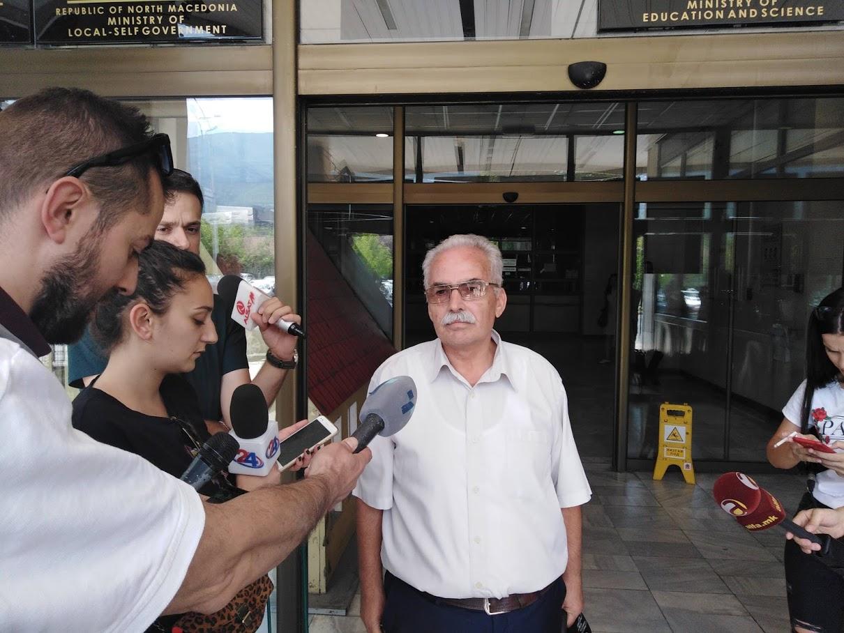 Инспекторот Илиевски поднесе прекршочна пријава за ДУТ и ректорот Амети