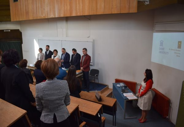 Редок настан на УКЛО! Одбрана на двоен докторат на м-р Рената Петревска-Нечкоска
