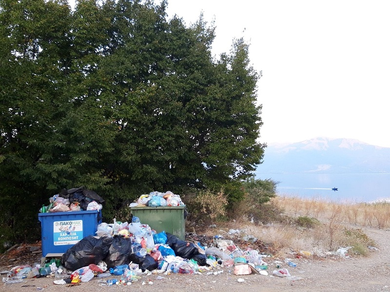 Преспанскиот рај не го личи вака! Честит Светски ден на чистењето!