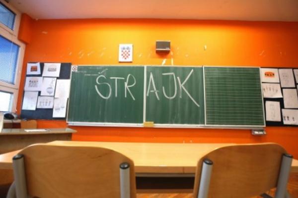 Две недели штрајк во образованието во Хрватска, можни се и предвремени избори