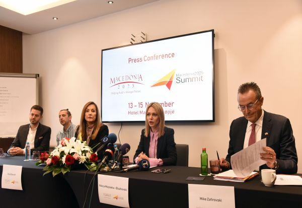 """Голем интерес кај бизнис-заедницата од земјава и регионот за осмото издание на Самитот """"Македонија2025"""""""