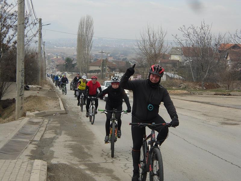Нема нервозен велосипедист наутро на пат до работа – порачуваат од Exploring Macedonia Tour