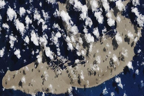 Конечно знаеме од каде дошол џиновскиот сплав од вулканска карпа што се движи кон Австралија
