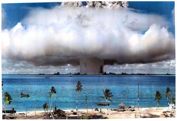 Дури сега, по 73 години, откриени последиците од атомското тестирање на дното на морето