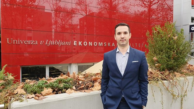 Богданчанецот Ристе Ичев, доктор на економски науки: Во академската средина на Словенија не е битно кој од каде е, туку колку е добар во тоа што го работи