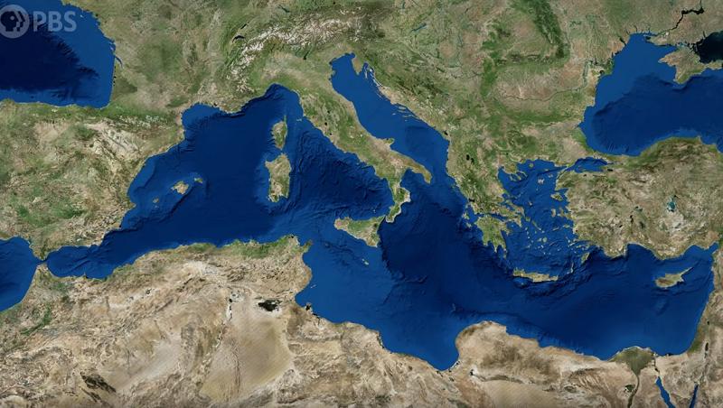 Приказната за периодот кога исчезнало Средоземното Море