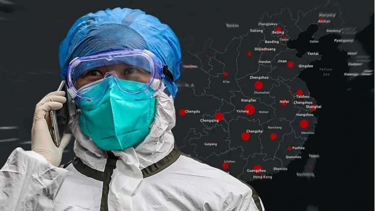 На оваа мапа можете во реално време да го следите ширењето на коронавирусот