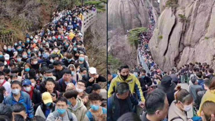 Кинезите се како пуштени од синџир, експерти предупредуваат на трет бран од заразата