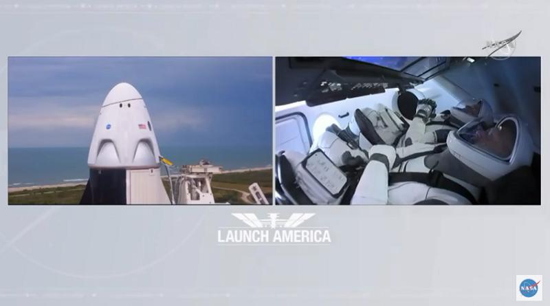 """Лошите временски услови го одложија лансирањето на ракетата на """"Спејс Екс"""""""