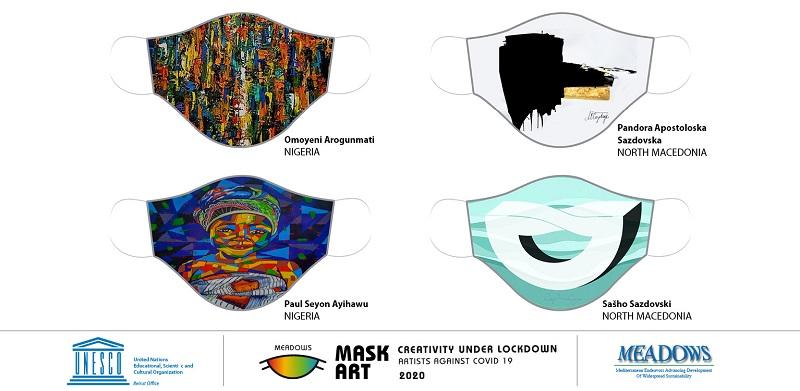 Уметноста на маските против Ковид-19: Њутн, Шекспир, Ван Гог во самоизолација го достигнале врвот на креативноста