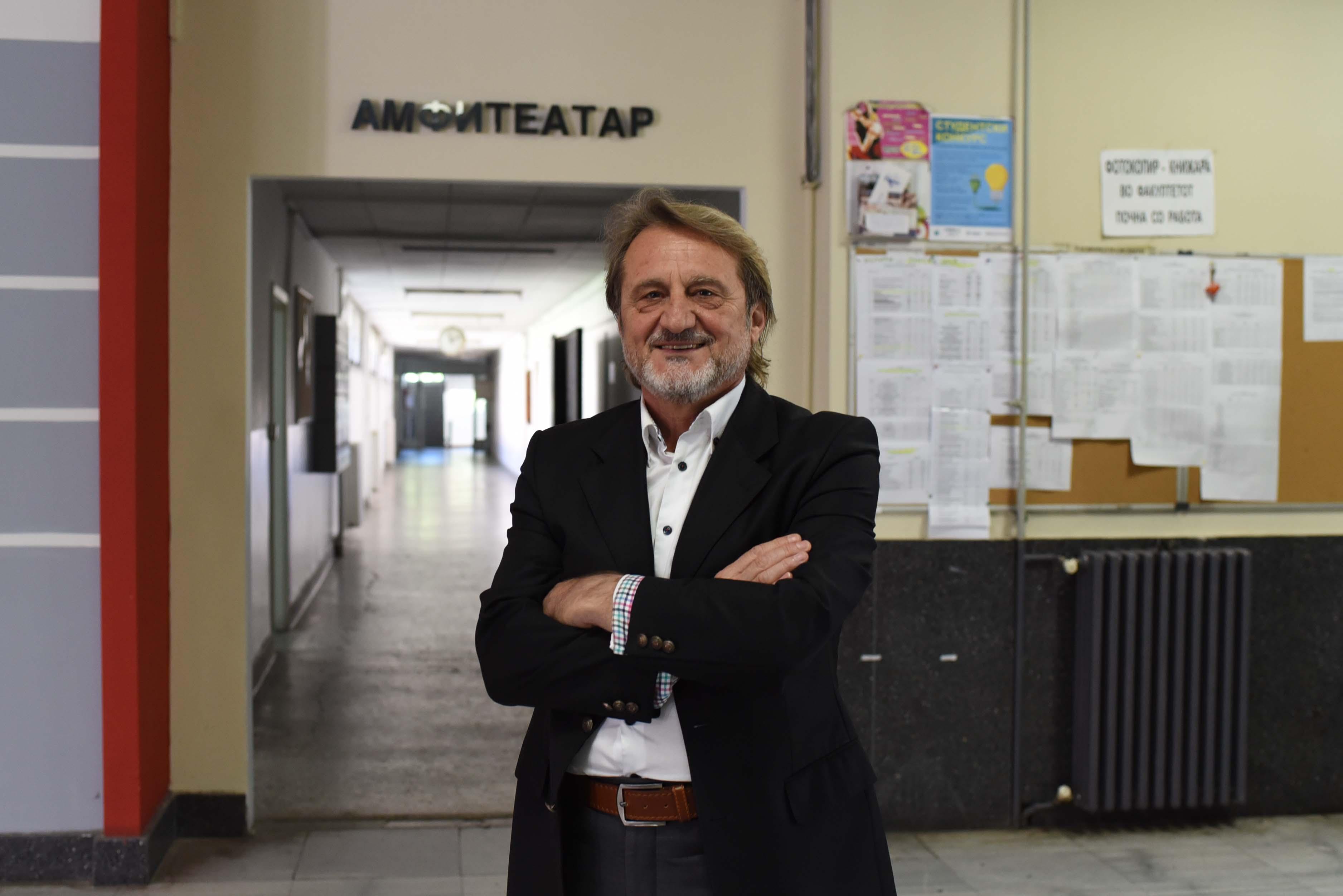 Проф. д-р Александар Димитров, кандидат за ректор: Враќање на УКИМ на нагорна патека како висококомпетентна и релевантна научна образовна институција во регионот и пошироко