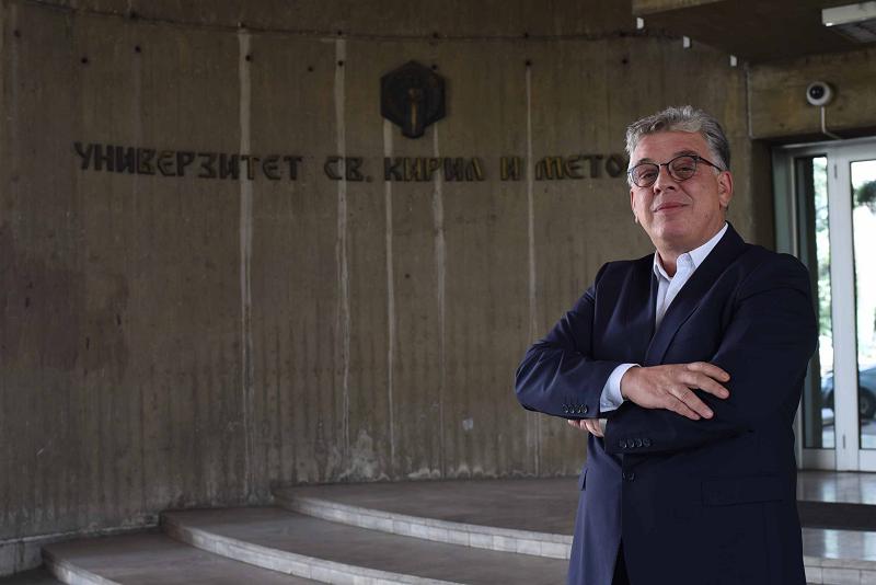 Проф. д-р Вујица Живковиќ, кандидат за ректор: УКИМ мора да се трансформира