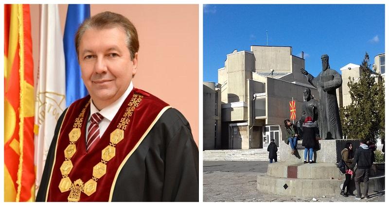 Проф. д-р Никола Јанкуловски повторно e избран за ректор на УКИМ