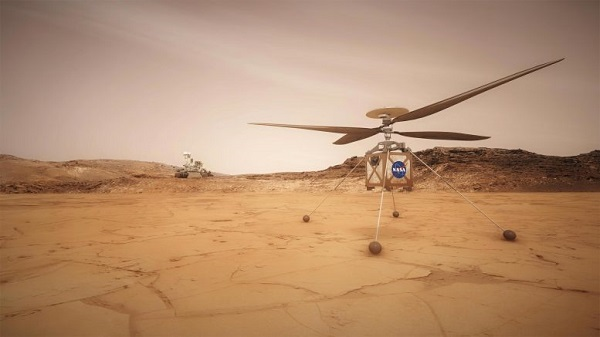 Видео на НАСА покажува како ќе биде составен првиот хеликоптер на Марс