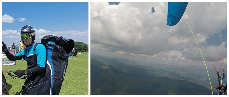 215 км и 8,5 часа во воздух! Гацевски постави нов рекорд за најдолг лет со параглајдер!