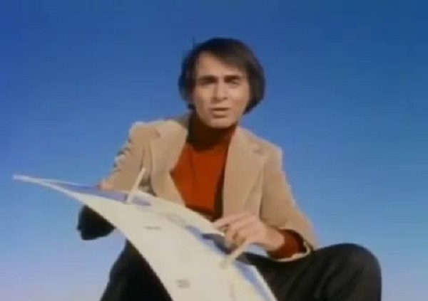 Пред 40 години Карл Сејган со картон и стапчиња покажал дека Земјата не е рамна