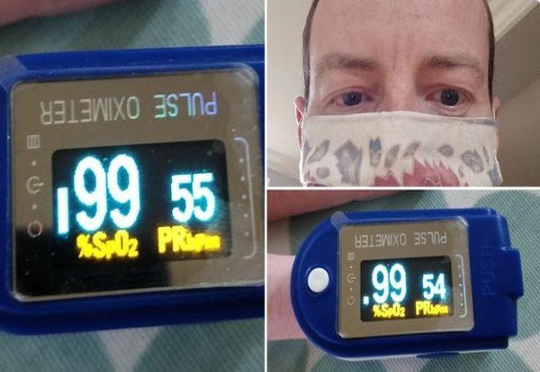 Доктор истрчал 35 километри со маска на лице за да докаже дека таа не го намалува кислородот