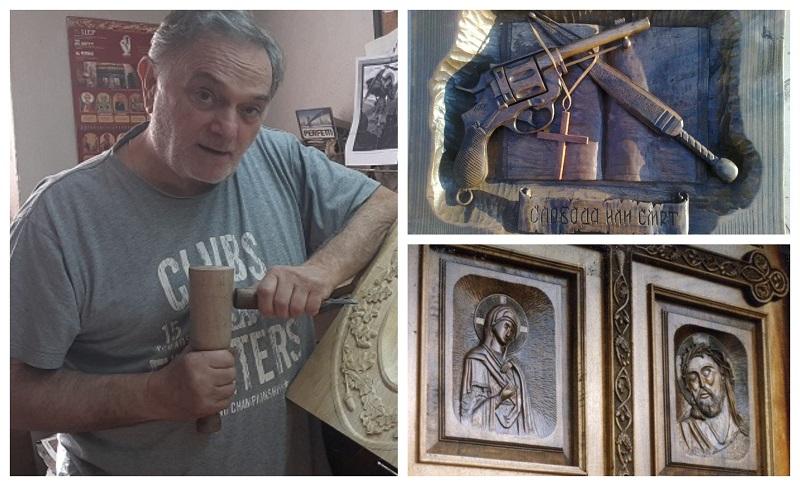 И старо и младо во Тетово сака да научи како се прават резби кај Буде-Пишман