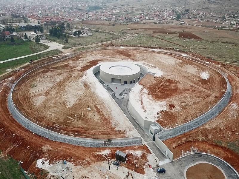 Изграден бетонски прстен за чување податоци во Прилеп - погледнете како изгледа