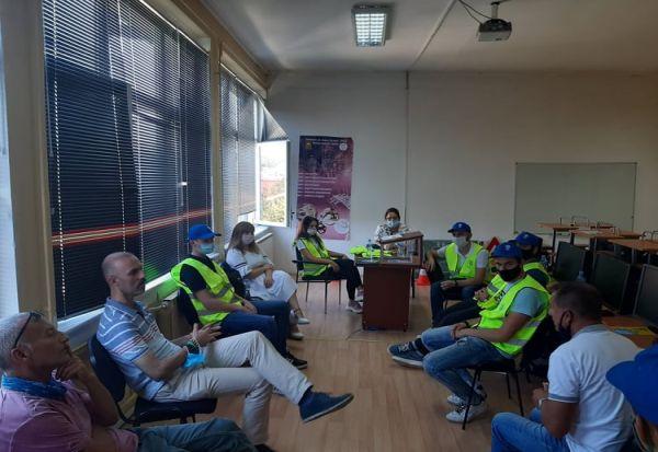Прва студентска сообраќајна единица на УКЛО - Технички факултет, Битола