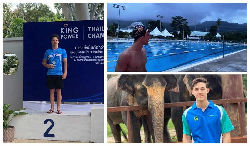 Матеја Дамчевски, стипендист во Тајланд: Учам на колеџ, тренирам со олимпиjци, волонтирам во резерват за слонови... И сето тоа без корона