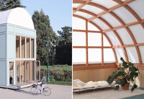 Оваа еколошка мала куќа се монтира за 5 дена