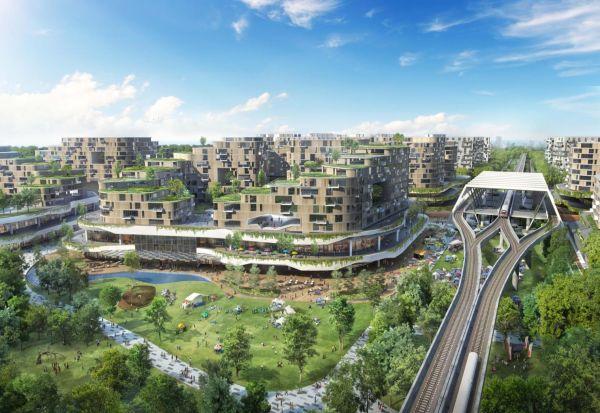 Сингапур гради паметен град со 42.000 екодомови