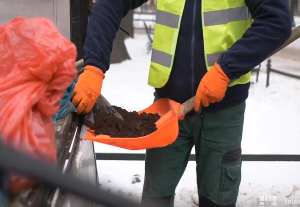 Зошто Краков ги посипува улиците со талог од кафе?