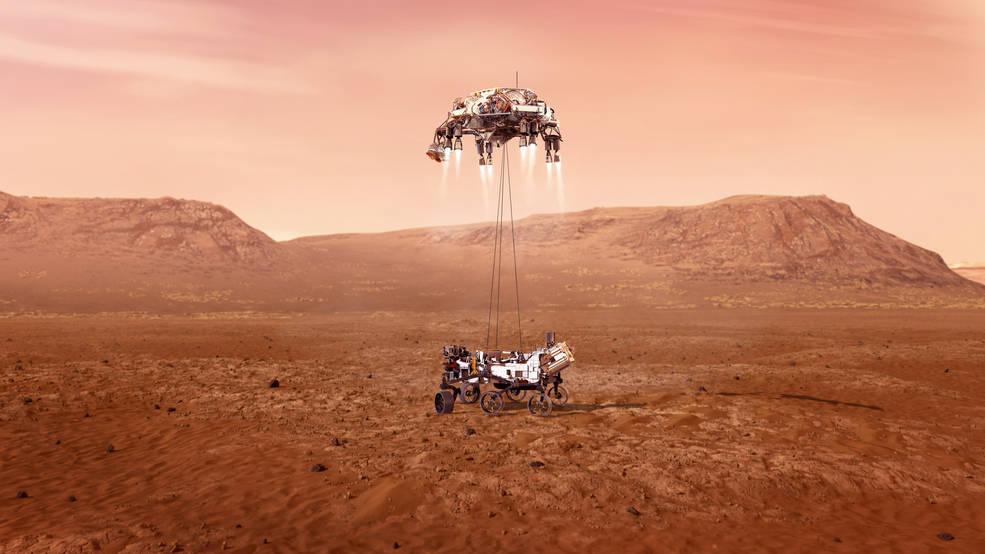 Следете го во живо слетувањето на роверот на НАСА на Марс