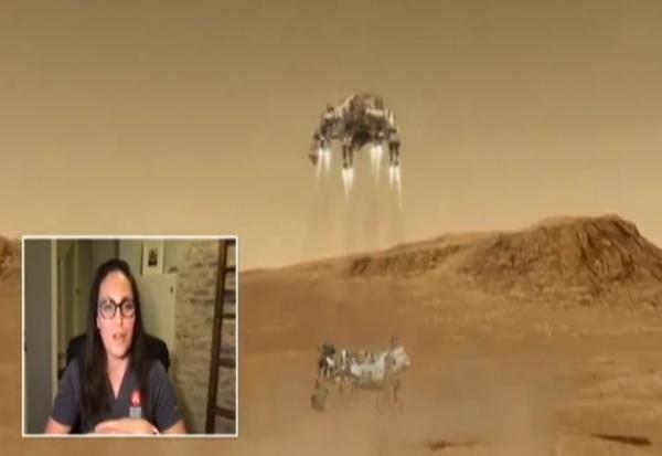 Ова е Србинката што го спушти роверот на Марс: Драгана е дел од историската мисија на НАСА