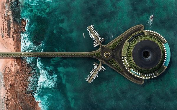 Во Катар ќе се гради хотел што ќе ротира на вода