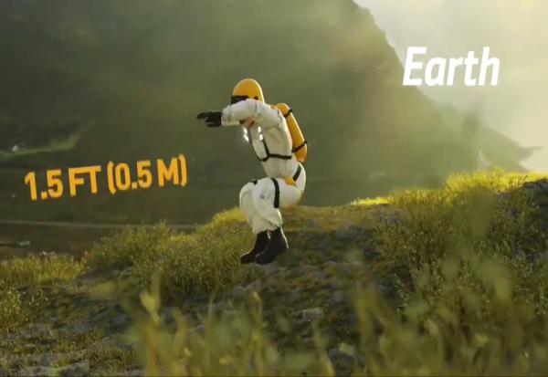 Колку високо би можеле да скокнете на различни планети во Сончевиот Систем?