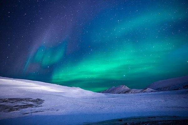 Откриен нов вид поларна светлина