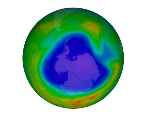 Дупката во озонскиот слој сега е поголема од Антарктикот